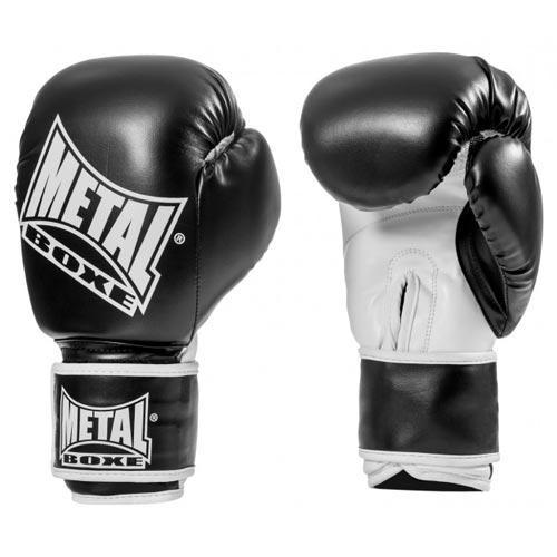 Gants d'entrainement Métal Boxe Noir