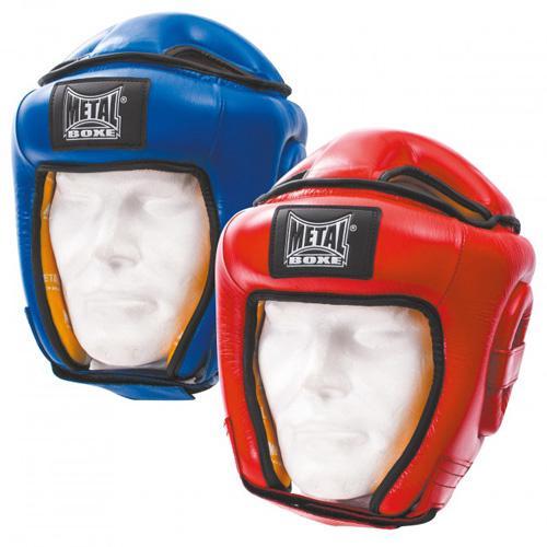 Casque amateur Métal Boxe Cuir SR