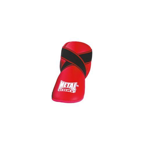 Protège pied prima Métal Boxe Rouge