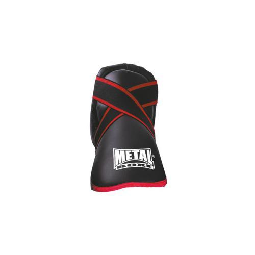 Protège pied prima Métal Boxe Noir