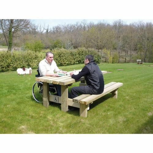 TABLE/BANC HANDICAPE