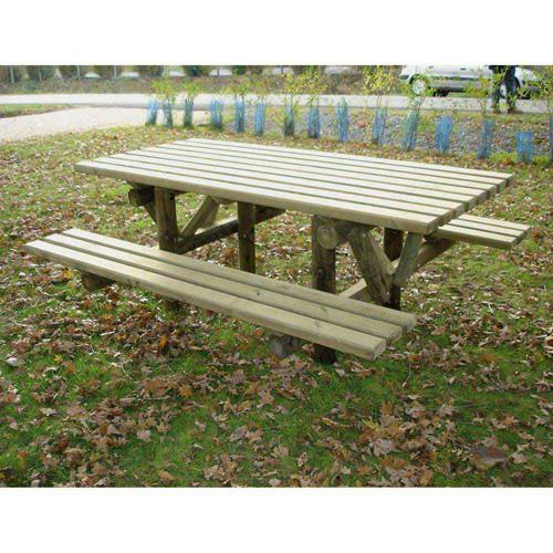 TABLE BANCS EGLANTINE