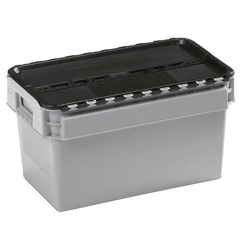 Bac standard à couvercle intégré - Longueur 300 mm