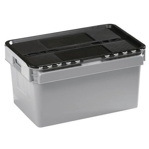 Bac standard à couvercle intégré - Longueur 400 mm