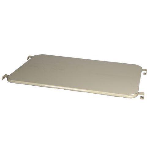 Tablette pour roll-conteneur emboîtable force 500 kg