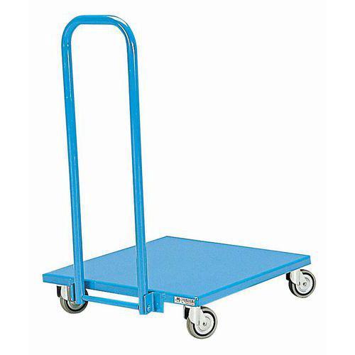 Chariot métal dossier rabattable - Force 150 kg