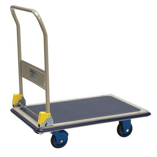Chariot métal dossier rabattable - Force 300 kg