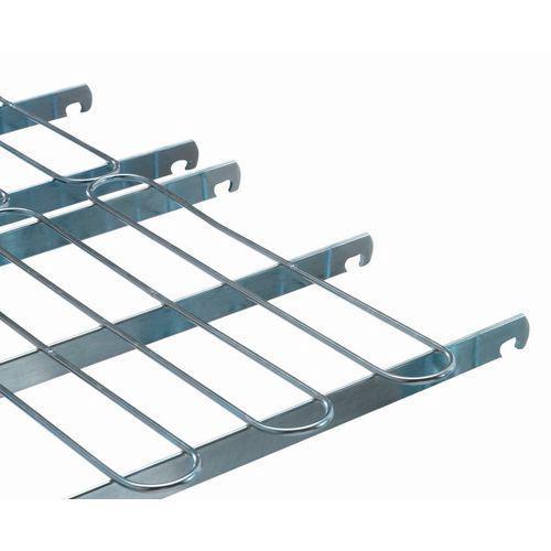 Demi-grille pour roll-conteneur de sécurité Maxi-roll - Force 600 kg