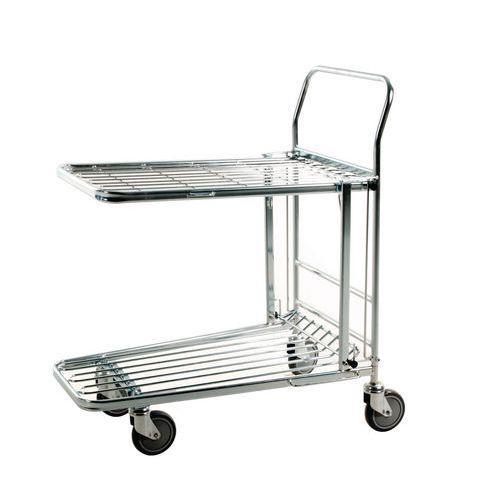 Chariot en fil d'acier - Force 300 kg