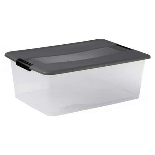 Box avec couvercle 35 L