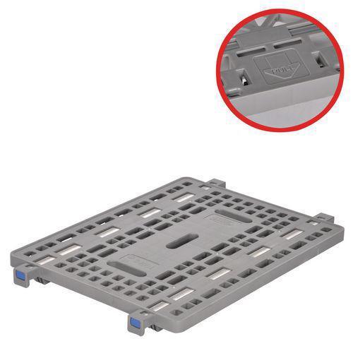 Plateau plastique pour roll-conteneur