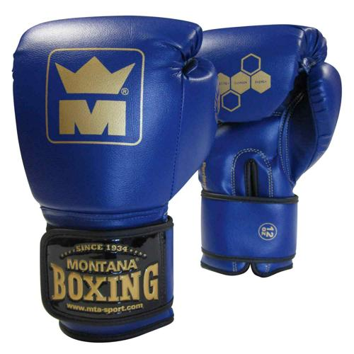 Gants initiation multiboxes Montana bleu