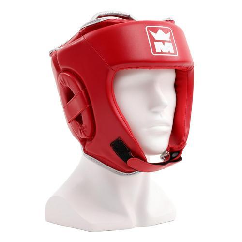 Casque boxe Montana Amateur rouge
