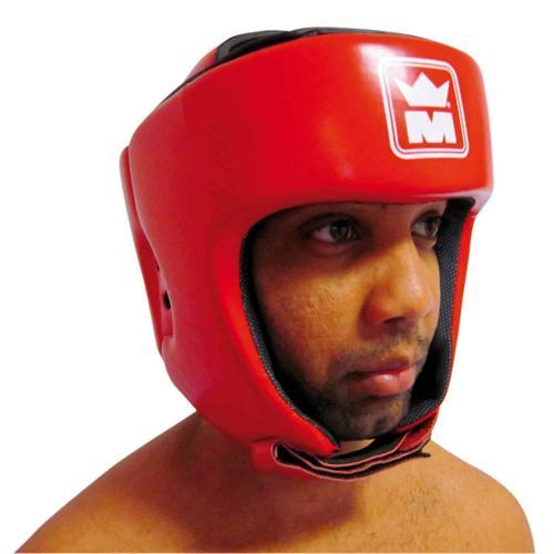Casque boxe Montana Kombat rouge