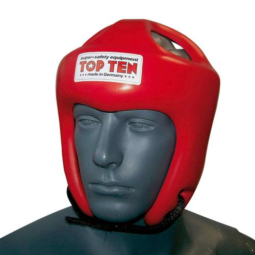 Casque boxe Topten Competition Fight 4061 rouge