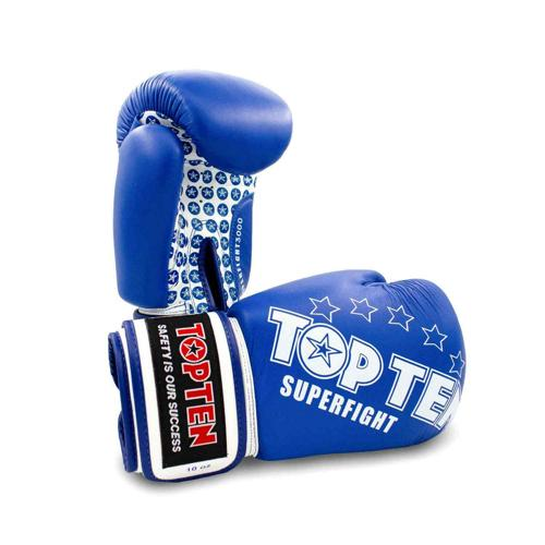 Gants multiboxes Topten Superfight 3000 Stars 20411-6010 bleu