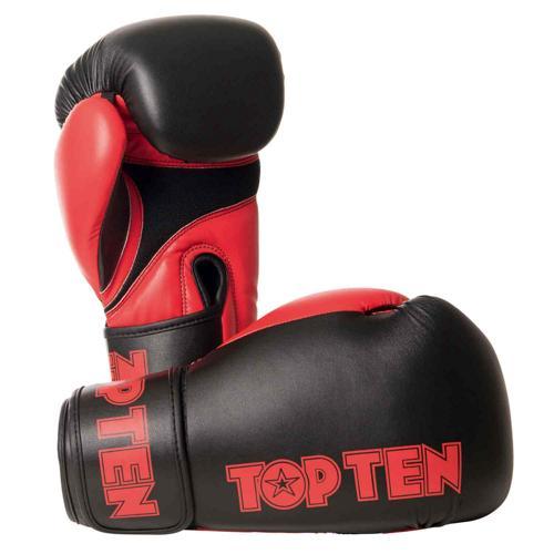 Gants multiboxes Topten XLP 2268-9410 noir/rouge