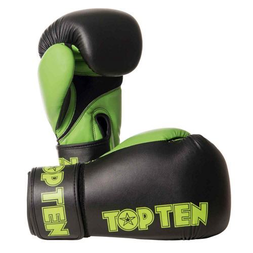 Gants multiboxes Topten XLP 2268-9510 noir/vert