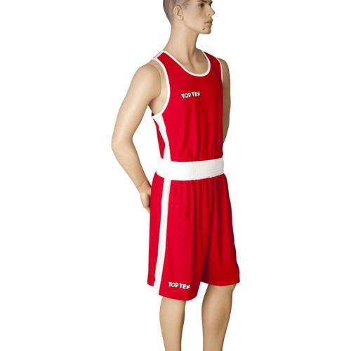 Débardeur boxe Topten Premium 1929-4003 rouge