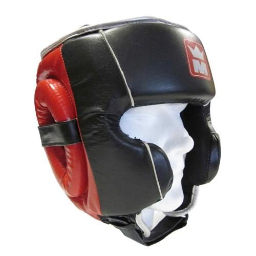 Casque intégral Montana Fullguard Training noir/rouge