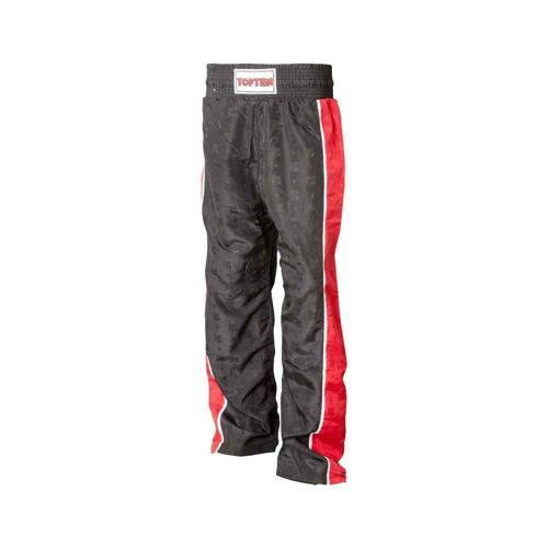 Pantalon kickboxing Topten Classic 2 noir/rouge