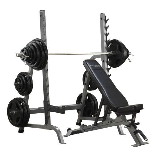 Banc et rack combo - Body Solid - SDIB370
