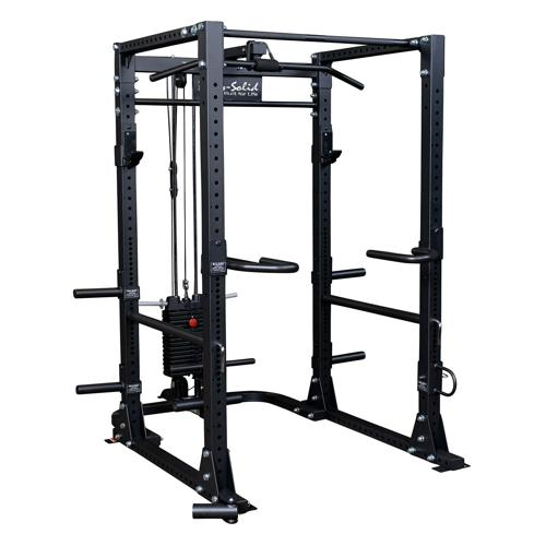 Cage a squat - Body Solid Full options GPR400FO
