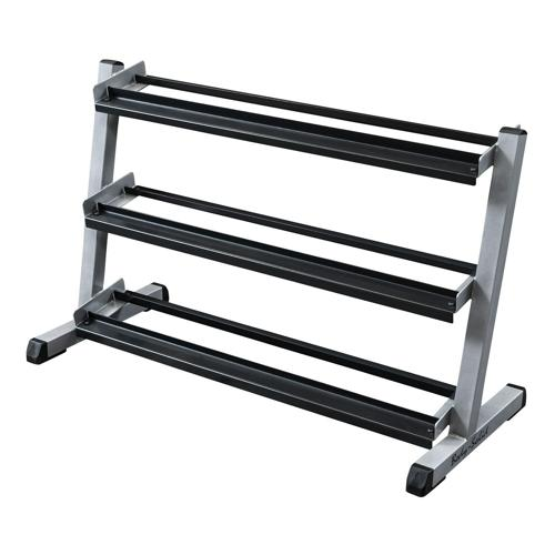 Range haltères 3 niveaux Body Solid - GDR48