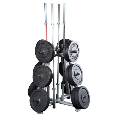 Range disques et barres Tree alésage 51 mm - Body Solid SWT1000