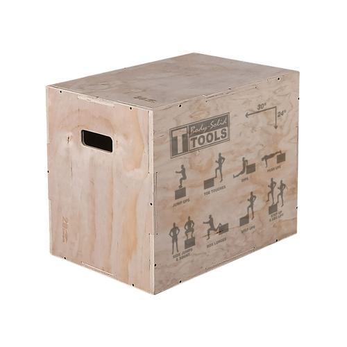 Plyobox en bois 76x61x51 cm Body Solid - BSTWPBOX