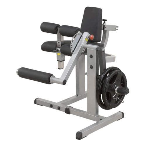 Machine combiné leg extension et curl - Body Solid - GCEC340 chargement par disques 28mm