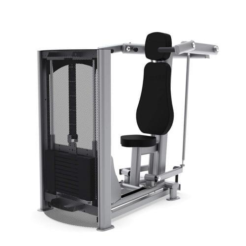 Développé assis convergent LAROQ Tannac - charge de 75 kg