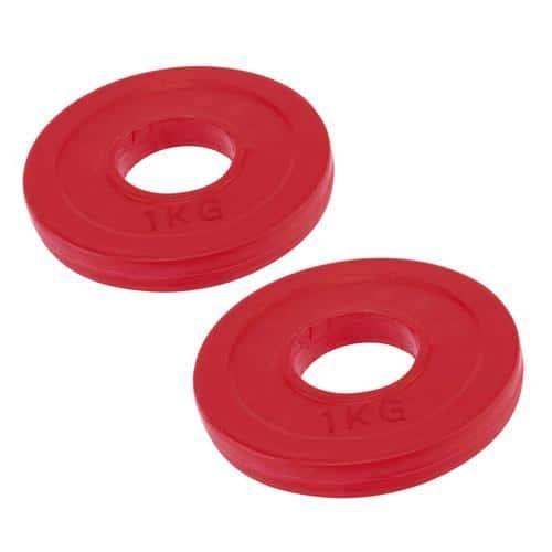 Paire de disques 1kg - 51mm
