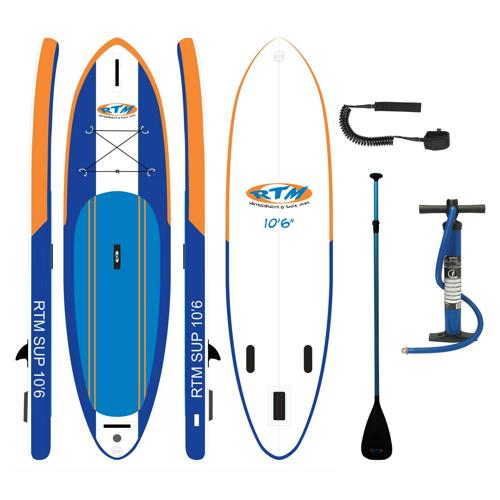 Pack SUP gonflable 10. 6 RTM + access.