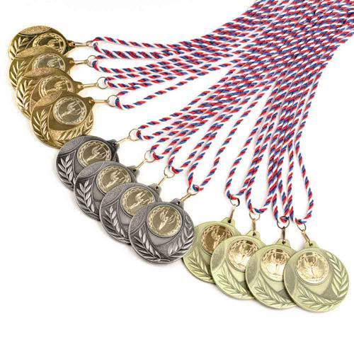 Médailles Challenge avec cordons - Lot de 12