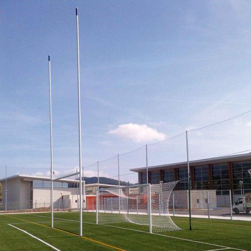 Buts de rugby en aluminium avec charnières