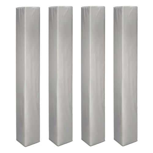 Protections de poteaux carrés de 30 cm x 30 cm lot de 4
