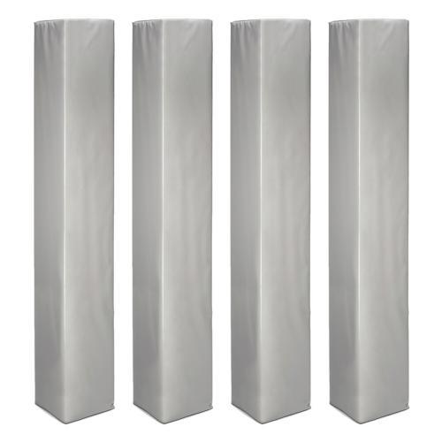 Protections de poteaux carrés de 50 cm x 50 cm lot de 4