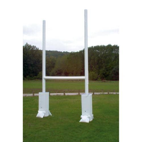 But de rugby gonflable hauteur 3,90m, largeur 1, 80 m