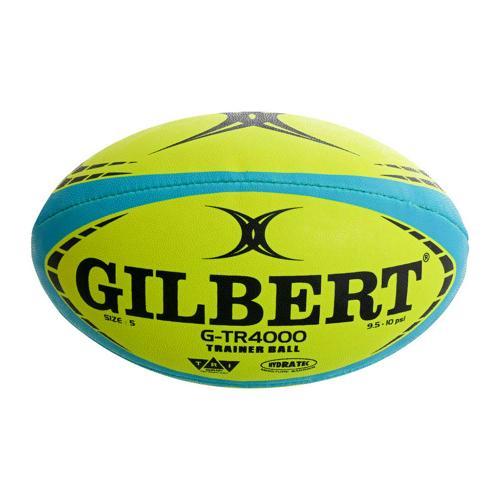 Ballon de rugby - Gilbert zenon fluo