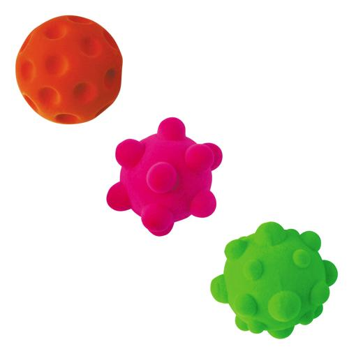 Lot de 3 balles anti-stress