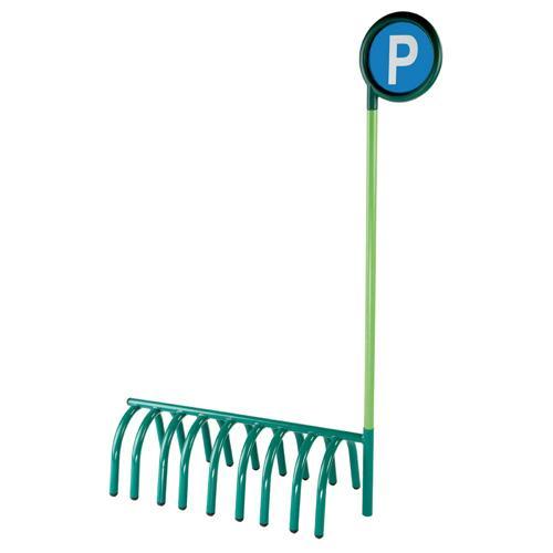 Parking pour trottinettes et tricycles