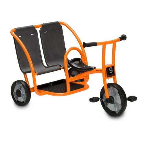 tricycle taxi double gamme évolutive