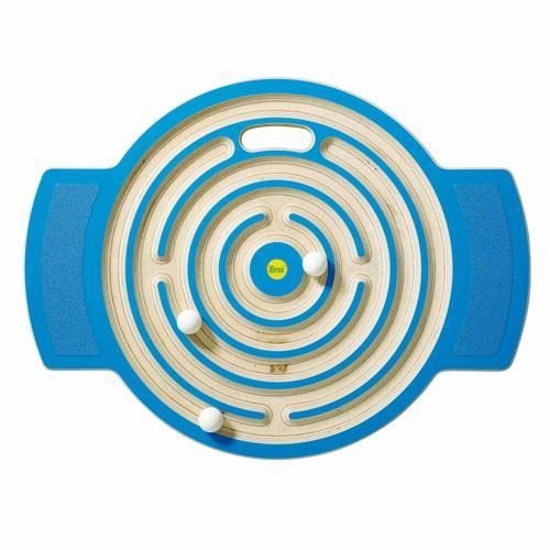 Planche d'équilibre labyrinthe
