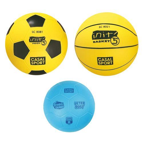 Lot 3 ballons spécial 2ème et 3ème cycle