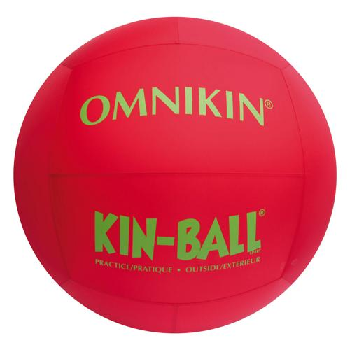 BALLON OUTDOOR de  KIN BALL® diamètre 84 cm Rouge