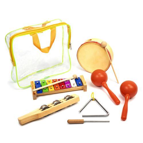 Lot de 5 instruments de musique