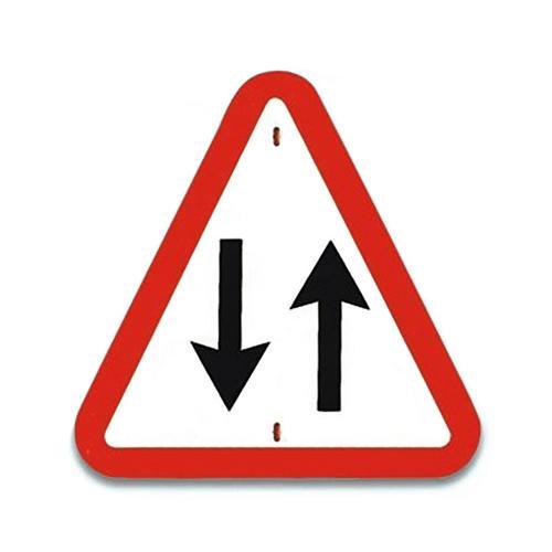 Panneau de signalisationTraffic à double sens