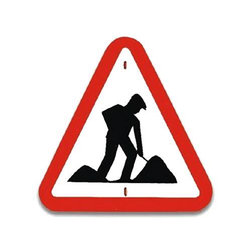 Panneau de signalisationTravaux routier