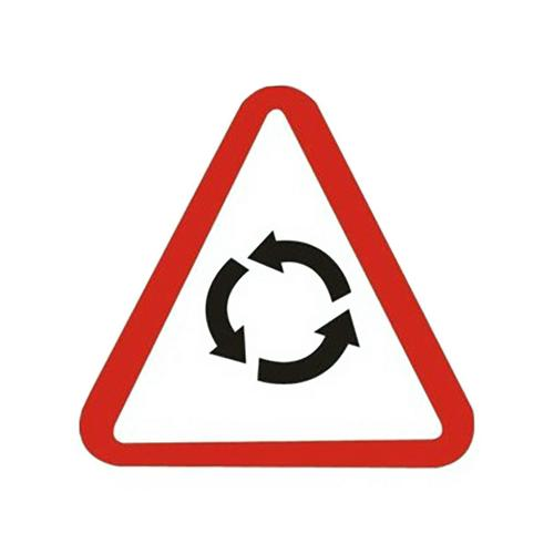 Traffic panel - Attention rond point